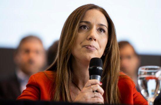 María Eugenia Vidal, Jefa Misión Observadores de la OEA para elecciones del 28 de febrero en El Salvador. Foto: La Nación
